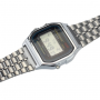 Digitale Retro Uhr – Silber – 100 KOSTENLOS 3